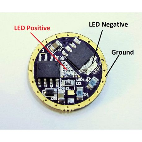 10+ Amp capable 17mm LED driver