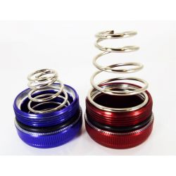 Shorty tail spring for D cell Maglite