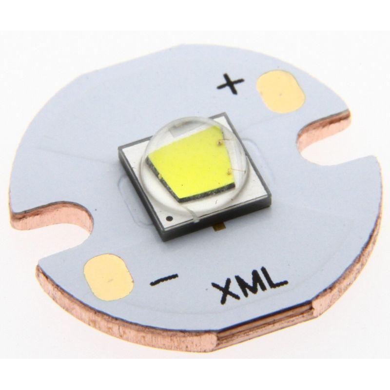 Cree XM-L2 U3 6500K on 20mm SinkPAD