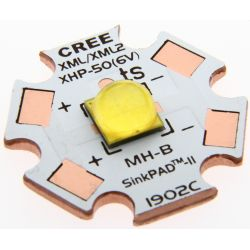 Cree XHP50.2 5000K J4 20mm Copper PCB