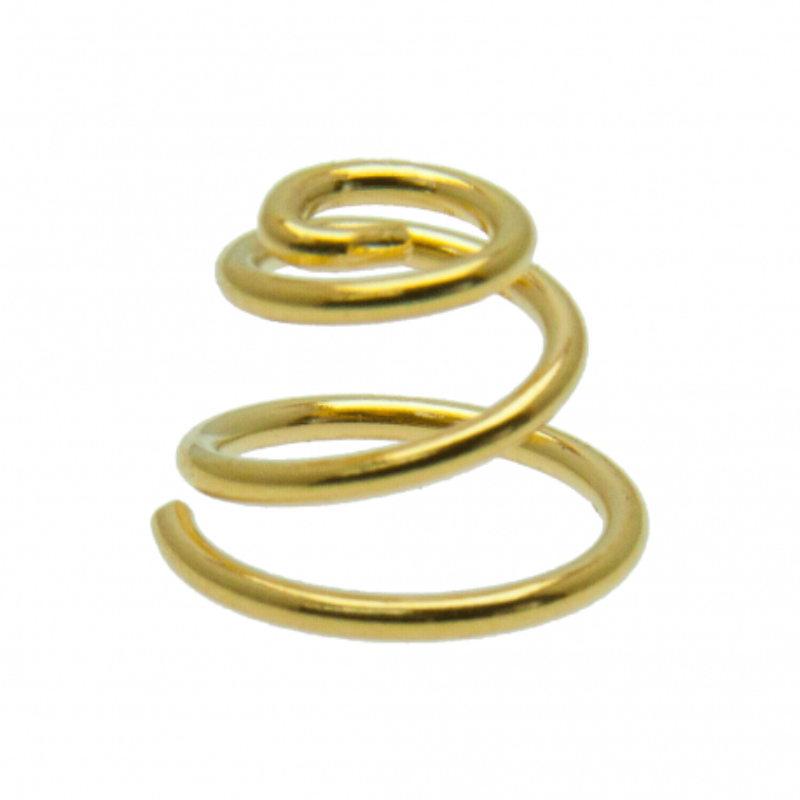 Gold Plated Beryllium Copper Spring