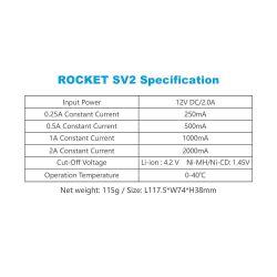 Xtar SV2 Rocket Fast Charger (2 amp max) Li-ion NIMH