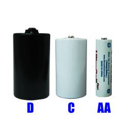 Dummy C an D cell batteries