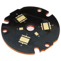 Series 32mm XM-L, XHP-50, XHP50.2 Copper mcpcb Triple