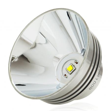 800 lumen FireFly 3-6 D Cell LED Conversion for Maglite, Luminus SST40 Emitter