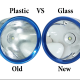 Glass lens for Maglite. 94% Transparent