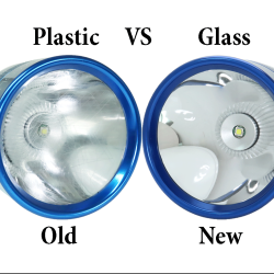 Glass lens for Maglite.   94% Transparent